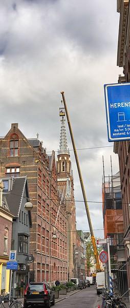 In Den Haag - walking to the Mauritshuis