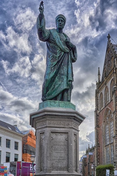 In Haarlem - the Market Square
