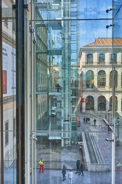 At the Museo Nacional Centro de Arte Reina Sofia