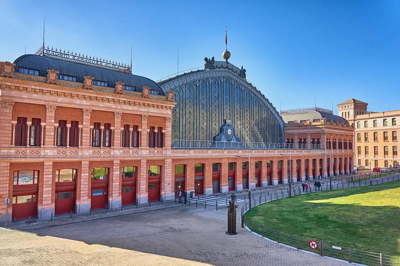 At Atocha station