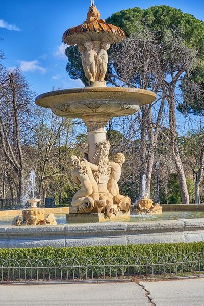 In El Retiro Park