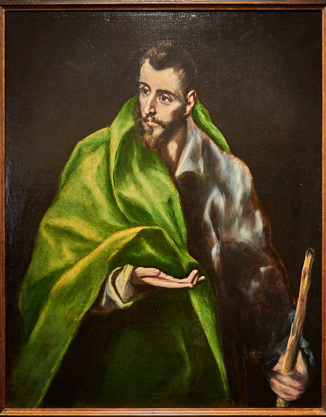 In the El Greco Museum