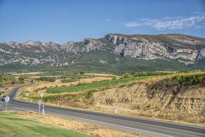 View from the Eguren Ugarte Winery