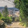 Walking back into San Sebastian