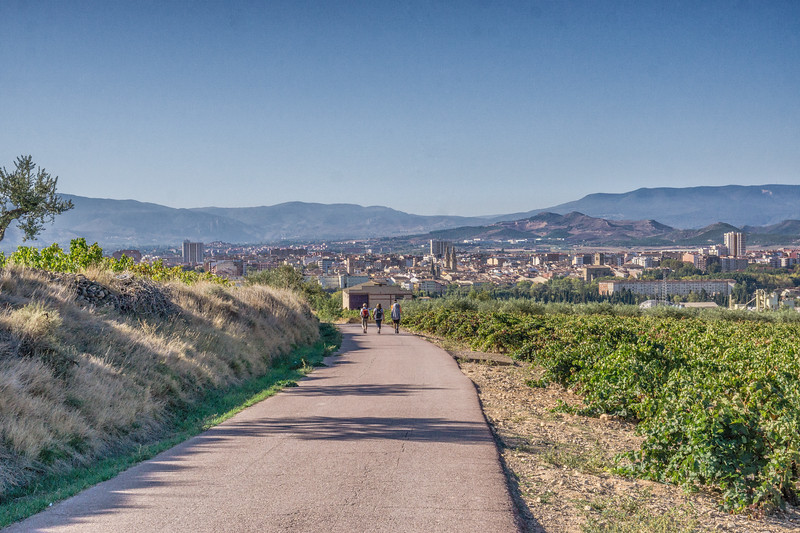 On the trail to Compostella