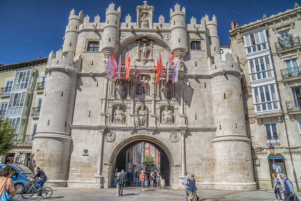Arco de Santa Maria, Burgos