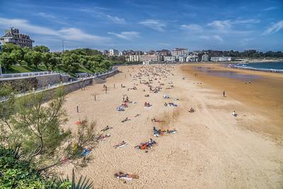 Santander beach