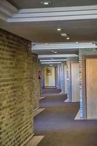 A corridor inside the Parador