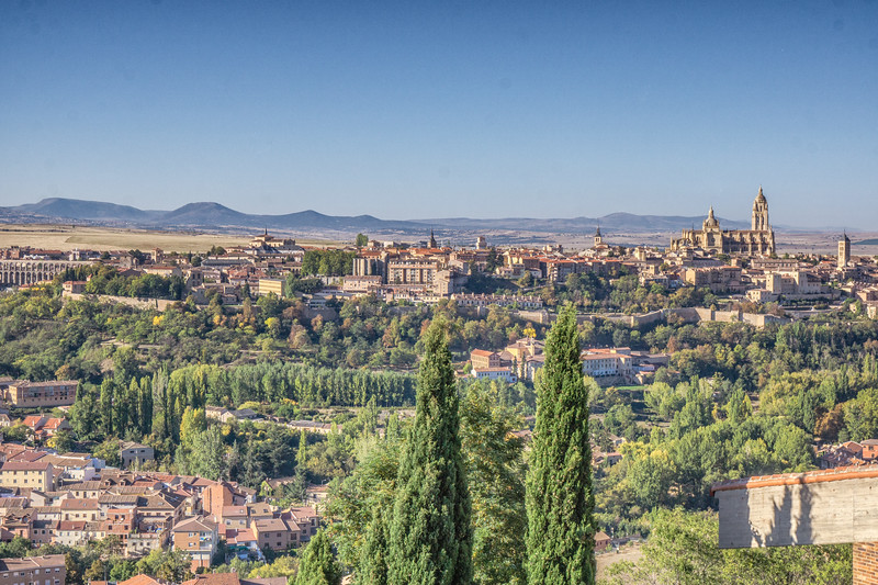 View of Segovia