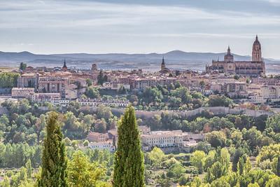 Segovia from the Parador