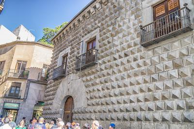 Street scenes, Segovia
