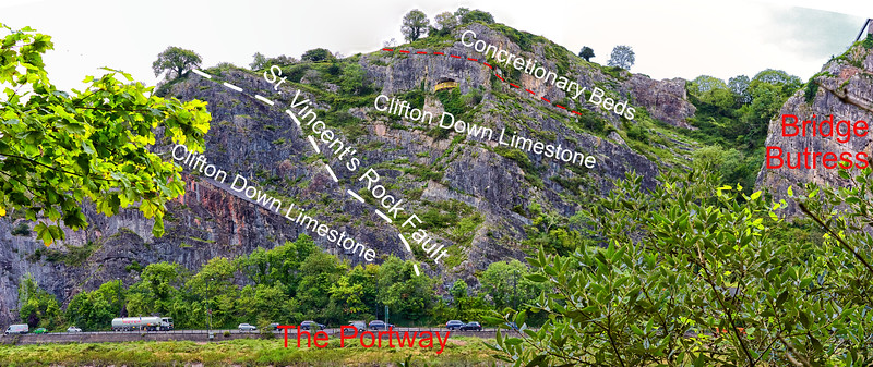 St Vincents Rock Fault 1