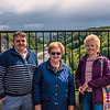 Alastair, Audrey and Chris at the Avon Gorge Lookout