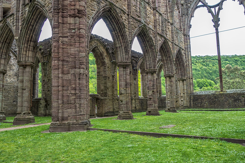 At Tintern Abbey