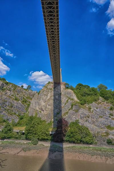 Under the Suspension Bridge Walk