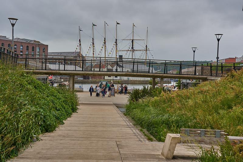 Around the harbour