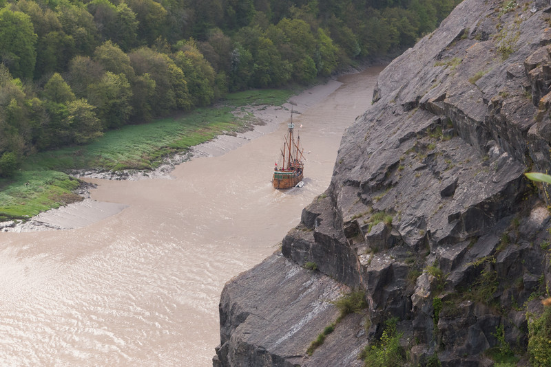 The Matthew, passing the lookout