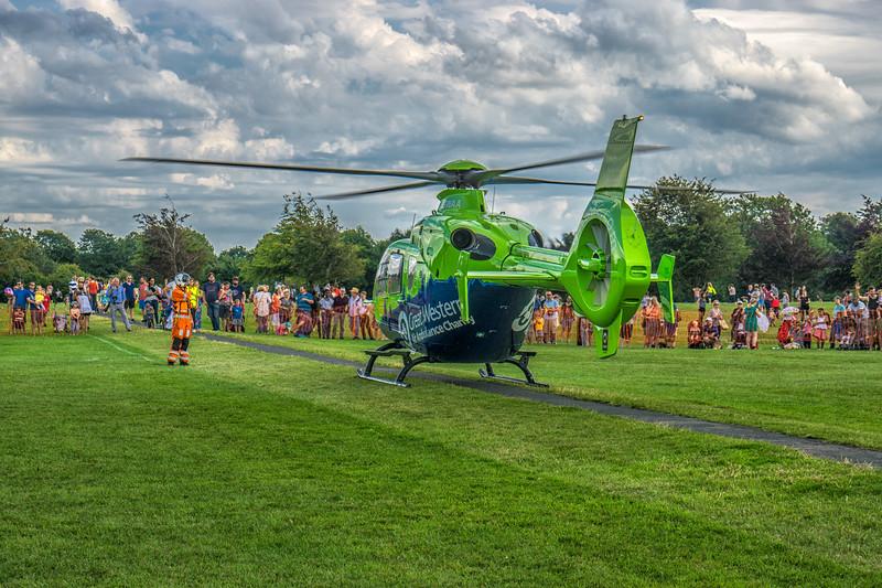 At the Bristol Kite festival