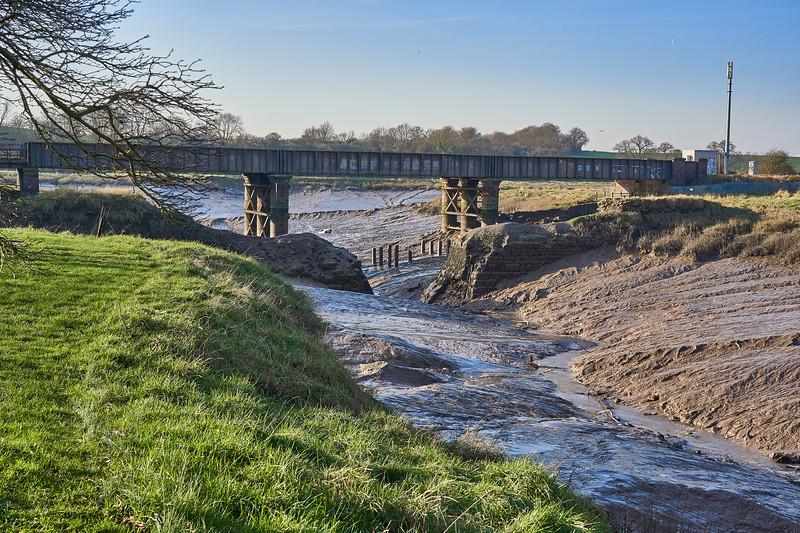 Railway bridge over the Trym
