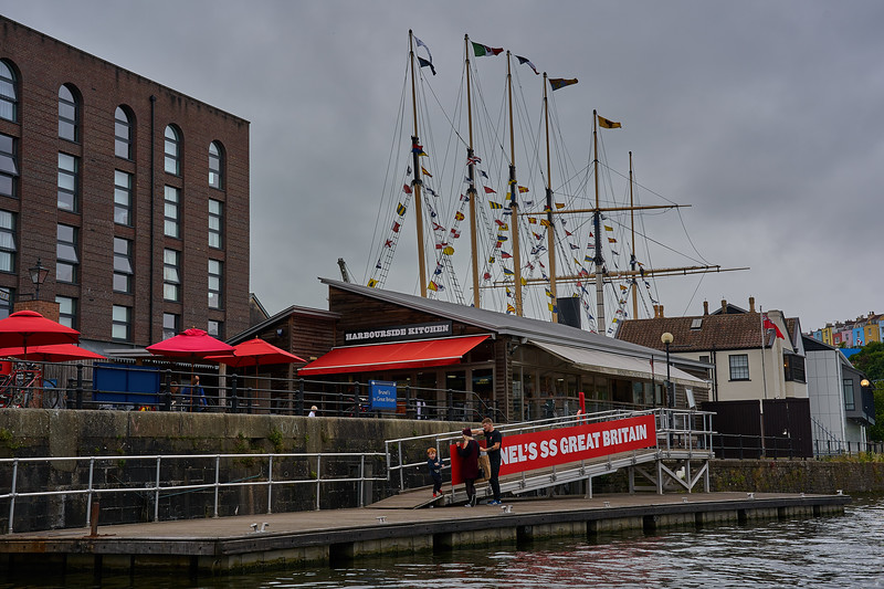 Near SS Great Britain