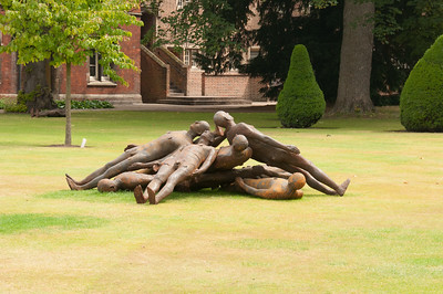 2009-June-27-Jesus College, sculptures etc-3