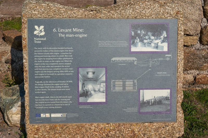At the Levant Mine