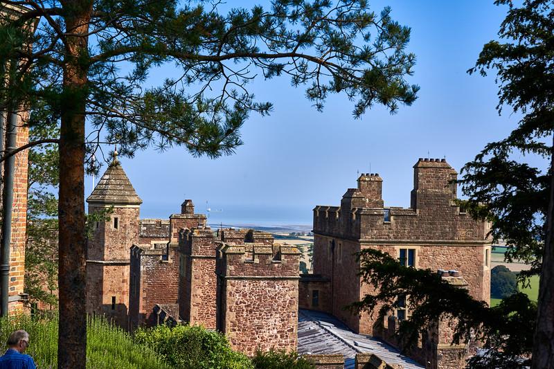 At Dunster Castle