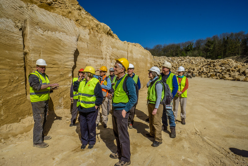 At Doulting Stone Quarry