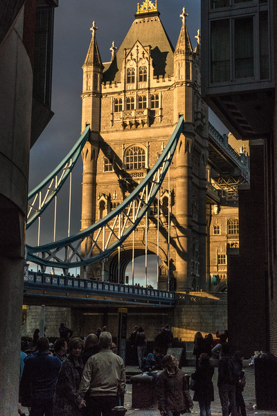 Tower Bridge in the sunset