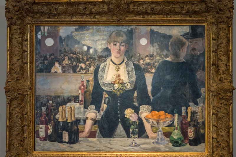 A Bar at the Folies-Bergere 1881 - 82