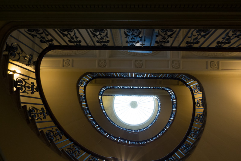 Courtauld Gallery - staircase