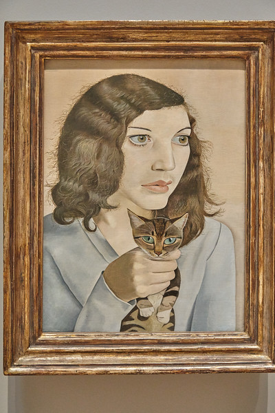Girl with a Kitten 1947