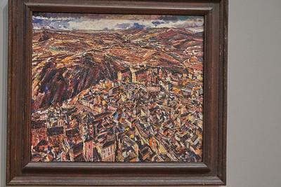 Toledo from the Alcazar 1929