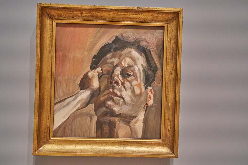 Man's Head (Self-Portrait I) 1963