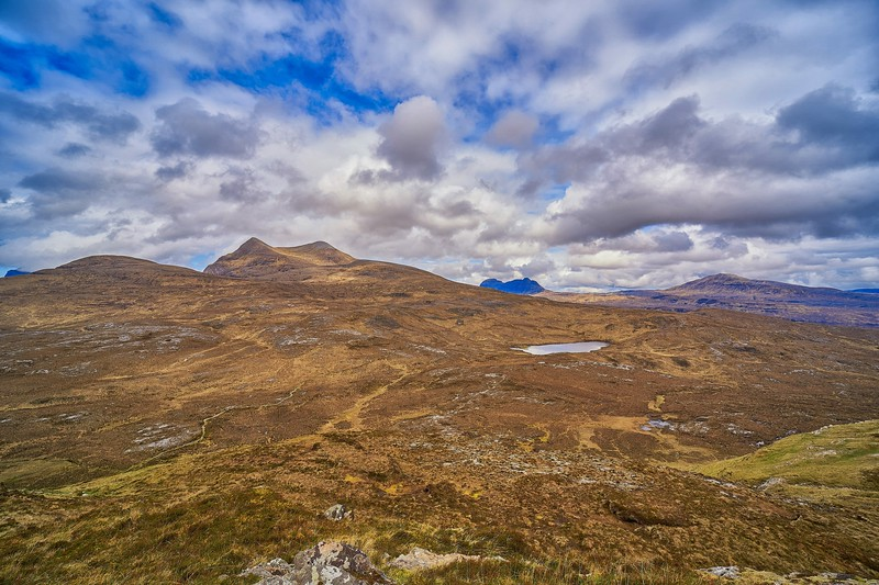 At Knockan Crag National Nature Reserve