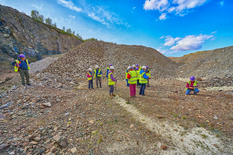 At Morefield Quarry, near Ullapool