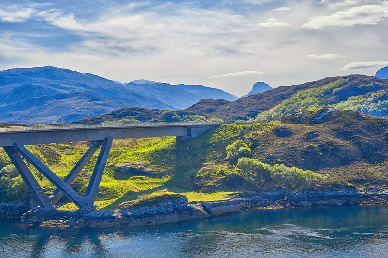 At Kylesku Bridge