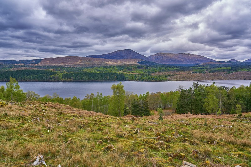 At Loch Garry