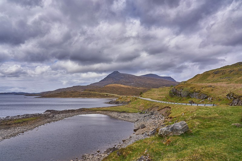 Near Ardvreck Castle