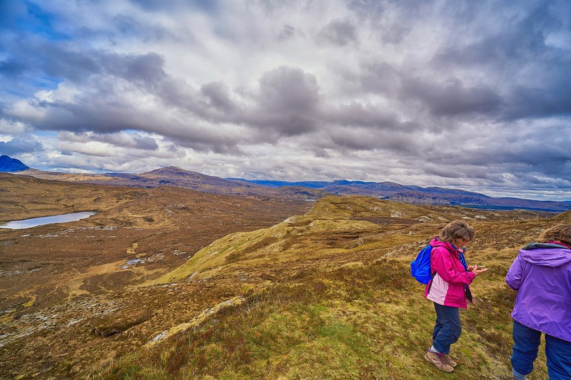 At Knockan Crag National Nature Reserve