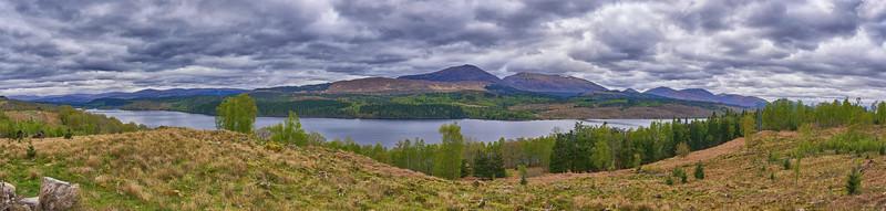 Loch Garry Panorama