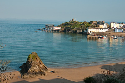 View of Tenby from the Fourcroft Hotel