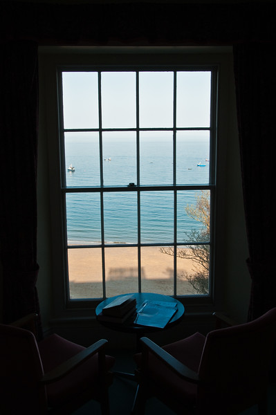 View of Sea through my hotel window