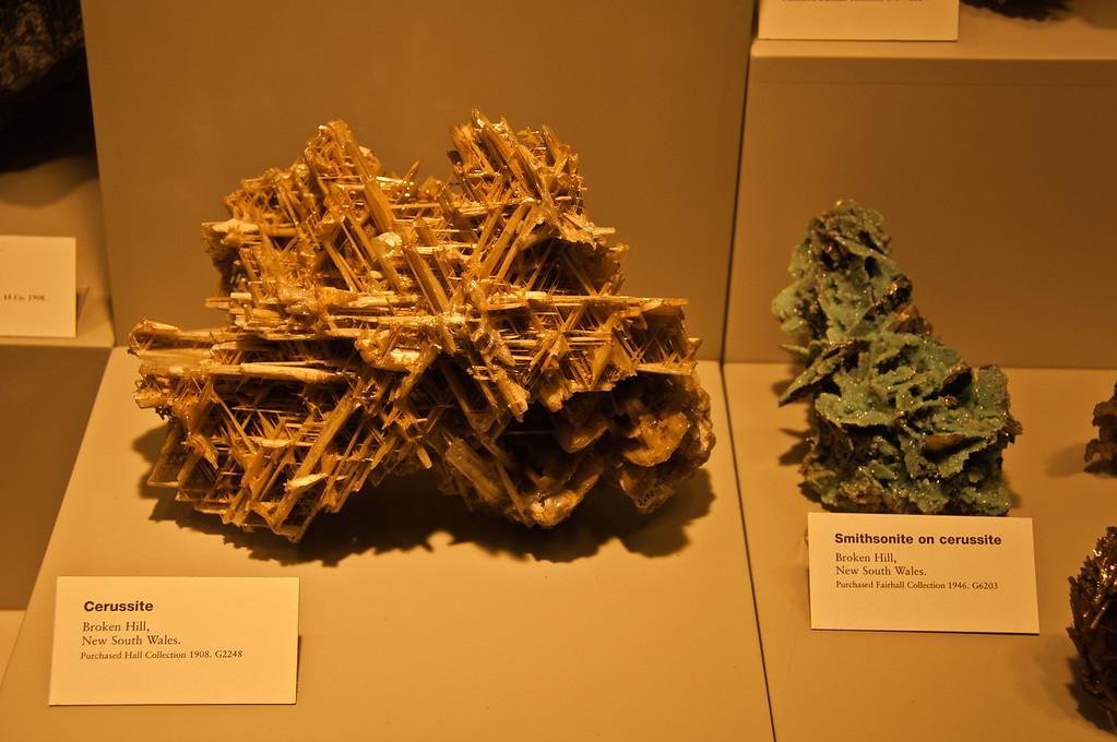 Minerals from Broken Hill