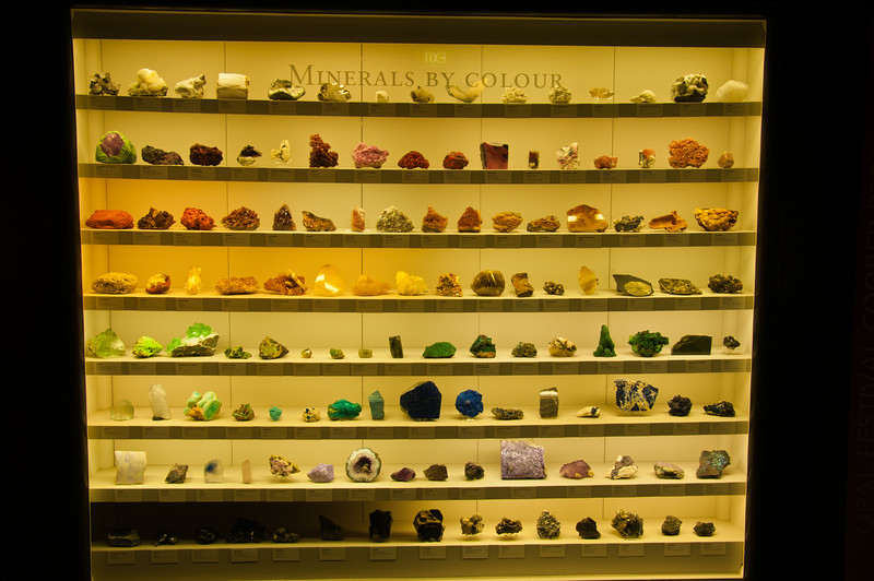 Minerals by Colour