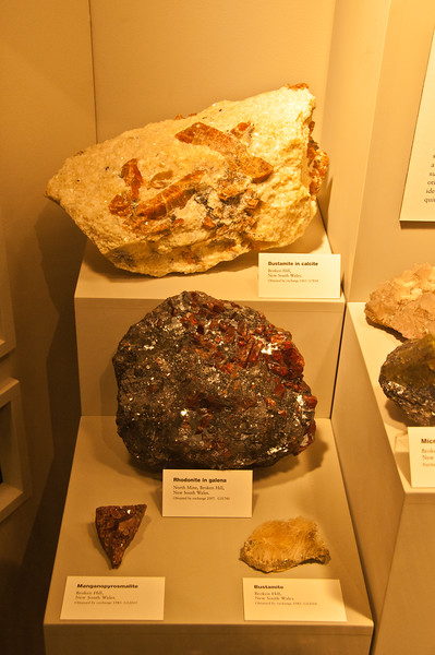 Minerals from Broken Hill