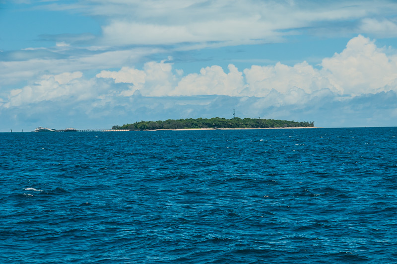On the way to Green Island