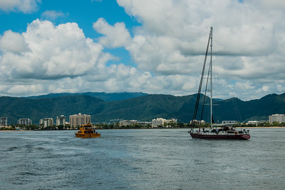 Leaving Cairns Marina