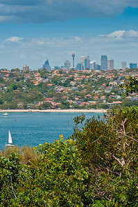 Central Sydney from Grotto Point