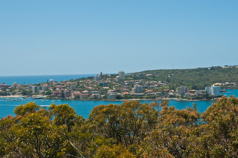 Manly from Arabanoo Lookout